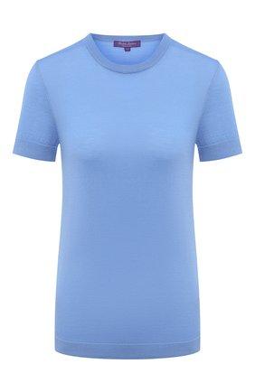 Женская кашемировый пуловер RALPH LAUREN голубого цвета, арт. 290797771 | Фото 1