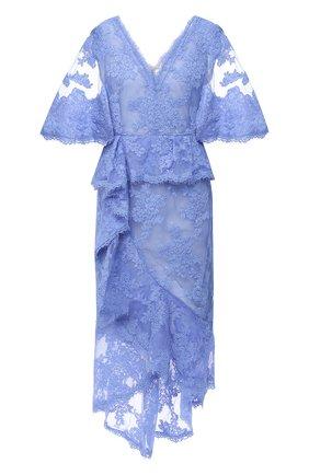 Женское платье-миди MARCHESA синего цвета, арт. M28921 | Фото 1