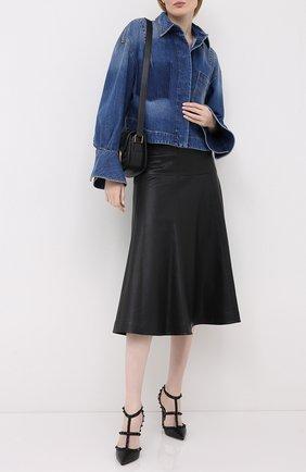 Женская кожаные туфли valentino garavani rockstud VALENTINO черного цвета, арт. UW2S0393/VB8 | Фото 2