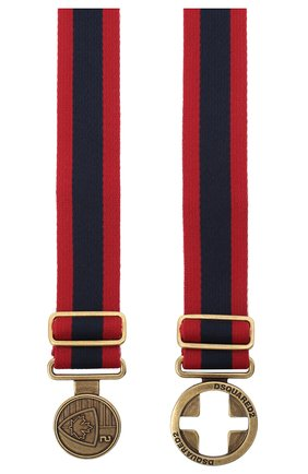 Женский текстильный ремень DSQUARED2 красного цвета, арт. BEW0193 20200508 | Фото 2