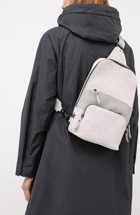 Женский рюкзак LORENA ANTONIAZZI светло-серого цвета, арт. A2087B0003/425 | Фото 2