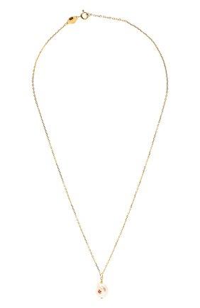 Женское кулон с цепочкой ANNI LU золотого цвета, арт. 180-02-31 | Фото 1