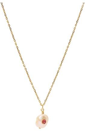 Женское кулон с цепочкой ANNI LU золотого цвета, арт. 180-02-31 | Фото 2