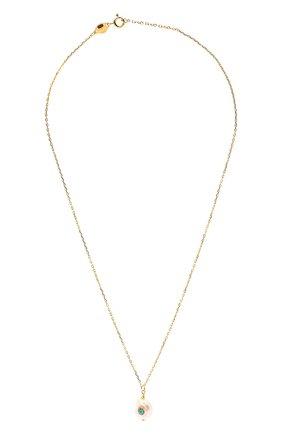 Женское кулон с цепочкой ANNI LU золотого цвета, арт. 180-02-32 | Фото 1