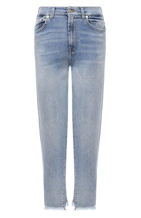 Женские джинсы 7 FOR ALL MANKIND синего цвета, арт. JSA71200L0 | Фото 1
