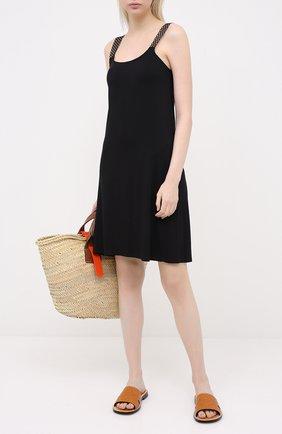 Женское платье ANTIGEL черного цвета, арт. ESA1050 | Фото 2
