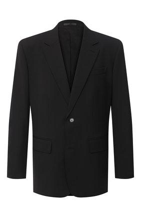 Мужской пиджак VALENTINO черного цвета, арт. UV3CEB356DP | Фото 1