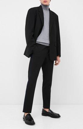 Мужской брюки VALENTINO черного цвета, арт. UV3RBF506EM | Фото 2