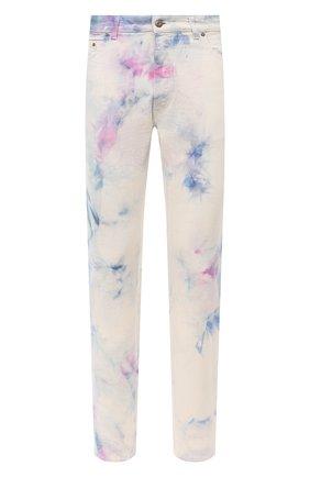 Мужские джинсы PALM ANGELS разноцветного цвета, арт. PMYA012E20DEN0050184 | Фото 1