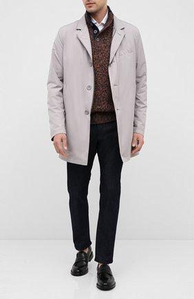 Мужские джинсы BOSS темно-синего цвета, арт. 50432473 | Фото 2