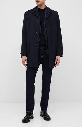 Мужской кожаные дерби W.GIBBS черного цвета, арт. 0220003/2302 | Фото 2