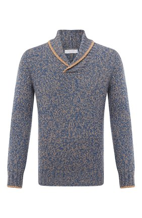 Мужской шерстяной свитер GRAN SASSO бирюзового цвета, арт. 10107/25701 | Фото 1