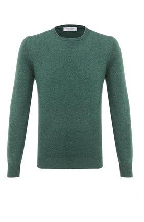 Мужской кашемировый джемпер GRAN SASSO зеленого цвета, арт. 55188/15583 | Фото 1