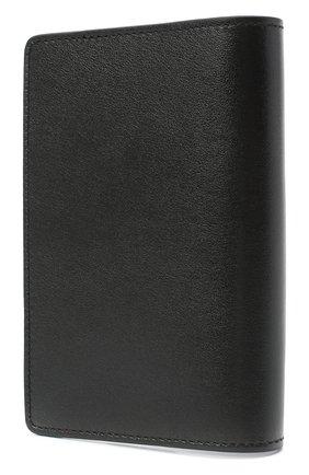 Мужская кожаная обложка для паспорта OFF-WHITE черного цвета, арт. 0MNC010E20LEA0011001 | Фото 2