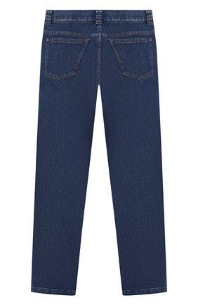 Детские джинсы LORO PIANA синего цвета, арт. FAL2584   Фото 2