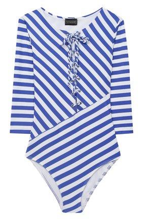 Детского слитный купальник NATAYAKIM синего цвета, арт. NY-108/19K   Фото 1