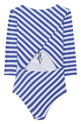 Детского слитный купальник NATAYAKIM синего цвета, арт. NY-108/19K   Фото 2
