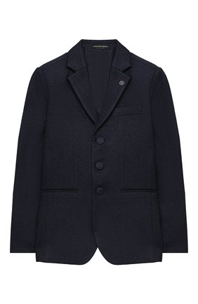 Детский пиджак ALESSANDRO BORELLI MILANO синего цвета, арт. JK2044-20л | Фото 1