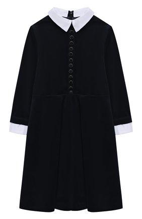 Детское платье ALESSANDRO BORELLI MILANO синего цвета, арт. D20562-6-20л | Фото 1