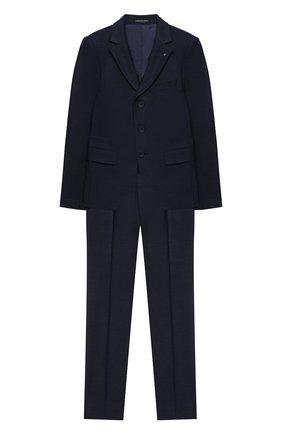 Детский костюм из брюк и пиджака ALESSANDRO BORELLI MILANO синего цвета, арт. BEJ20230-20л | Фото 1