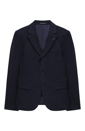 Детский костюм из брюк и пиджака ALESSANDRO BORELLI MILANO синего цвета, арт. BEJ20230-20л | Фото 2
