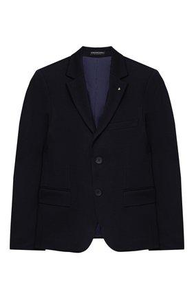 Детский костюм из брюк и пиджака ALESSANDRO BORELLI MILANO синего цвета, арт. BEJ20220T-20л | Фото 2