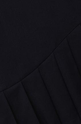 Детское платье ALESSANDRO BORELLI MILANO синего цвета, арт. D20568-41-20л | Фото 3 (Рукава: Длинные; Случай: Повседневный; Материал внешний: Синтетический материал, Вискоза; Девочки Кросс-КТ: Платье-одежда; Ростовка одежда: 10 - 11 лет | 140 - 146см, 13 - 15 лет | 158 см, 16 лет | 164 см, 7 лет | 122 см, 8 лет | 128 см, 9 лет | 134 см)