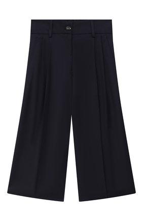 Детского брюки-кюлоты с завышенной талией ALESSANDRO BORELLI MILANO синего цвета, арт. P20214-41синий-20л | Фото 1