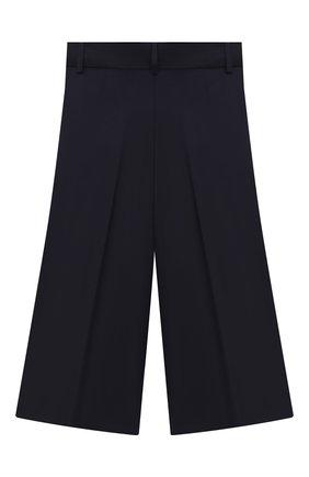 Детского брюки-кюлоты с завышенной талией ALESSANDRO BORELLI MILANO синего цвета, арт. P20214-41синий-20л | Фото 2