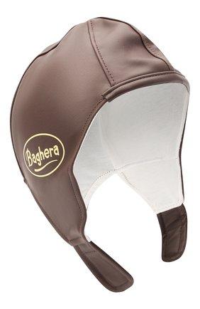 Детского комплект из шлем и очков BAGHERA коричневого цвета, арт. 32004 | Фото 2