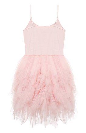 Детское хлопковое платье TUTU DU MONDE розового цвета, арт. TDM5141/4-11   Фото 2