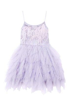 Детское хлопковое платье TUTU DU MONDE фиолетового цвета, арт. TDM5142/4-11   Фото 1