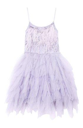 Детское хлопковое платье TUTU DU MONDE фиолетового цвета, арт. TDM5142/12   Фото 1