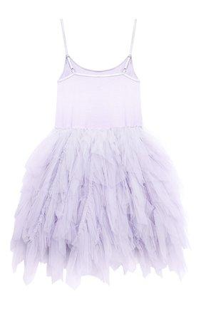Детское хлопковое платье TUTU DU MONDE фиолетового цвета, арт. TDM5142/12   Фото 2