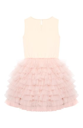 Детское хлопковое платье TUTU DU MONDE розового цвета, арт. TDM5143/4-11 | Фото 2