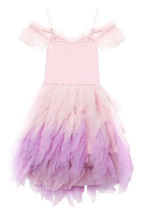 Детское хлопковое платье TUTU DU MONDE розового цвета, арт. TDM5182/4-11   Фото 2