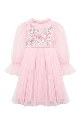 Детское платье TUTU DU MONDE розового цвета, арт. TDM5192/4-11 | Фото 1