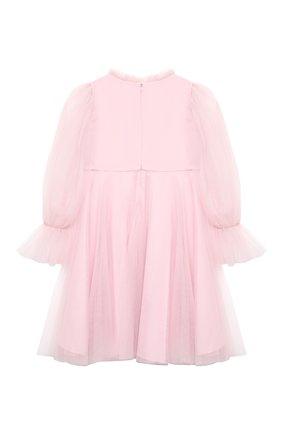 Детское платье TUTU DU MONDE розового цвета, арт. TDM5192/4-11 | Фото 2