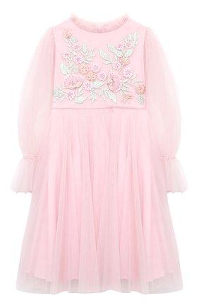 Детское платье TUTU DU MONDE розового цвета, арт. TDM5192/12   Фото 1