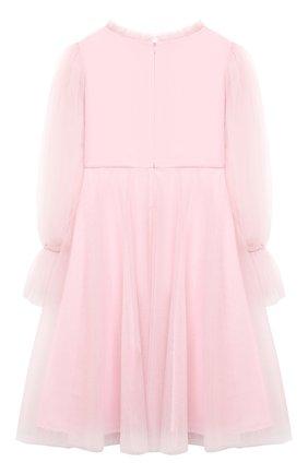 Детское платье TUTU DU MONDE розового цвета, арт. TDM5192/12   Фото 2