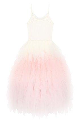 Детское хлопковое платье TUTU DU MONDE розового цвета, арт. TDM5204/4-11   Фото 2