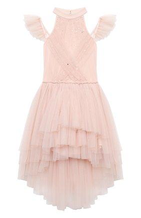 Детское платье TUTU DU MONDE розового цвета, арт. TDM5212/4-11   Фото 1