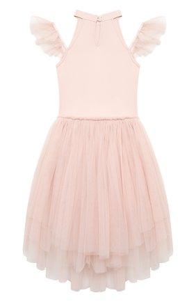 Детское платье TUTU DU MONDE розового цвета, арт. TDM5212/4-11   Фото 2