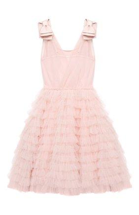 Детское хлопковое платье TUTU DU MONDE розового цвета, арт. TDM5224/4-11   Фото 2