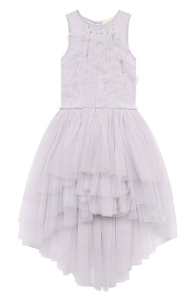 Детское хлопковое платье TUTU DU MONDE фиолетового цвета, арт. TDM5238/4-11   Фото 1