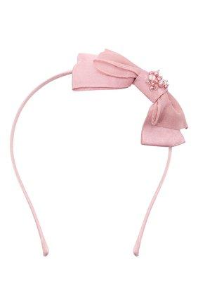 Детского ободок TUTU DU MONDE розового цвета, арт. TDM5257 | Фото 1