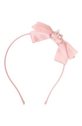 Детского ободок TUTU DU MONDE розового цвета, арт. TDM5258 | Фото 1