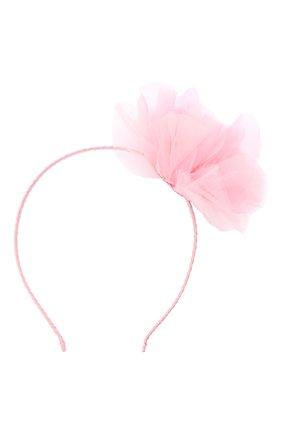 Детского ободок TUTU DU MONDE розового цвета, арт. TDM5318 | Фото 1