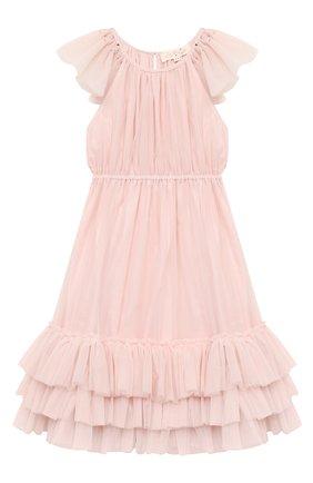 Детское платье TUTU DU MONDE розового цвета, арт. TDM5384/4-11   Фото 1