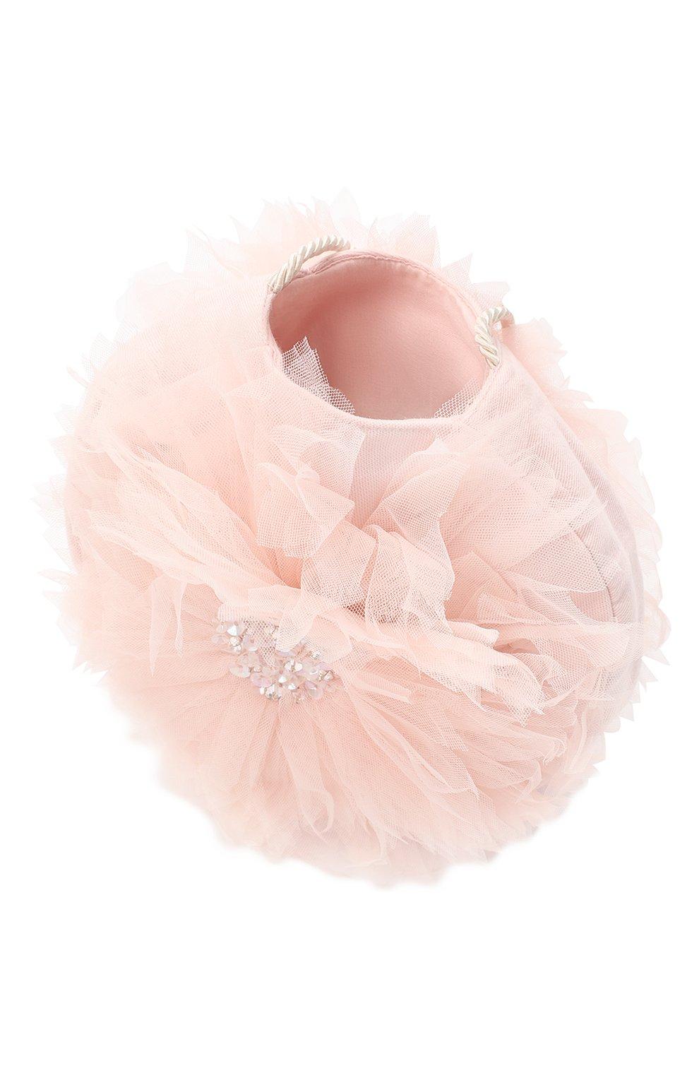Детская сумка TUTU DU MONDE розового цвета, арт. TDM5393 | Фото 3 (Материал: Текстиль)